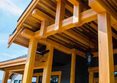 Timber Frame custom build Camelot Homes