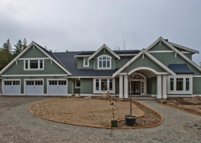 custom built homes Vancouver Island
