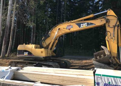 Camelot Excavating Services Equipment