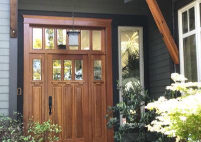 Stained-Fir-Door