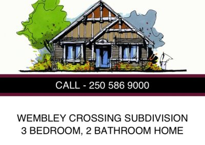 Wembley Crossing Subdivision – Lot 22