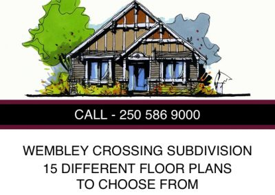Wembley Crossing Subdivision Lots
