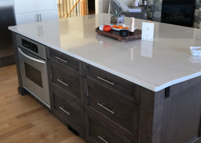 custom built homes Vancouver Island cabinets